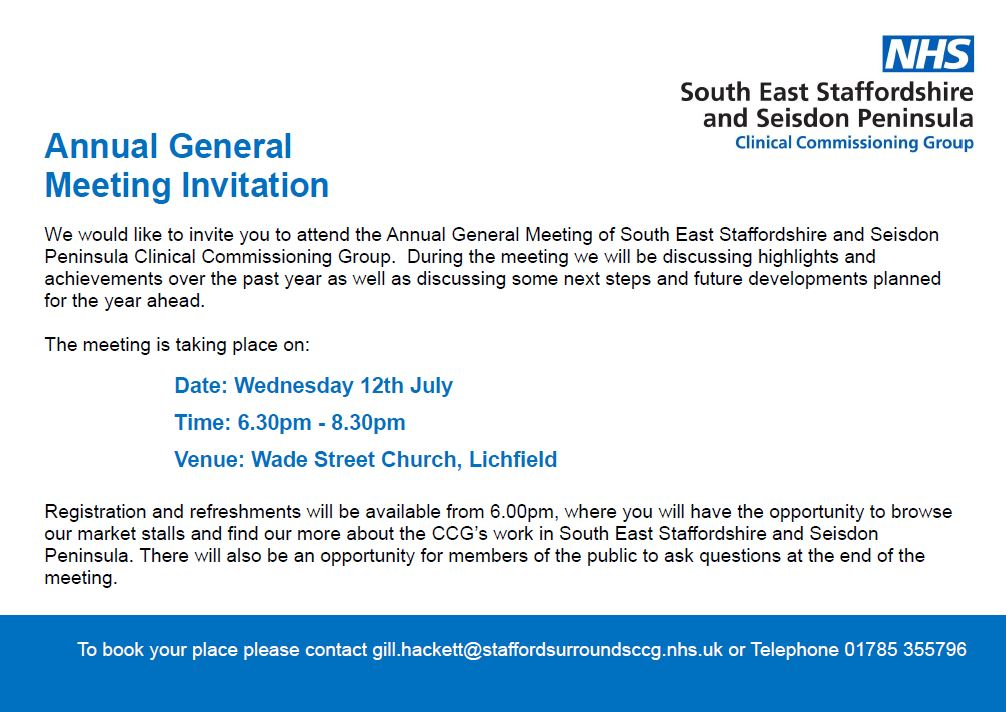 SESSP AGM invite